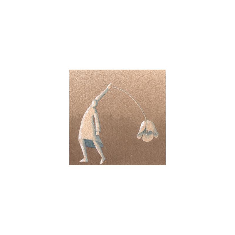 Ad arco, 2015, tecnica mista, cm 12×12