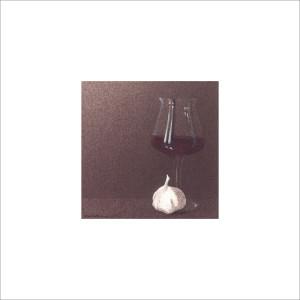 Bicchiere e aglio, 2013, tecnica mista, cm 12x12
