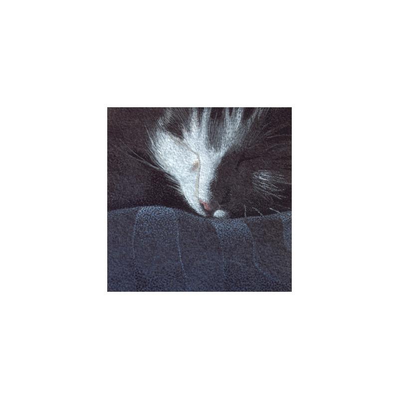 Dorme, 2015, tecnica mista, cm 12×12
