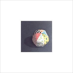 Pallina di pezza, 2013, tecnica mista, cm 12x12