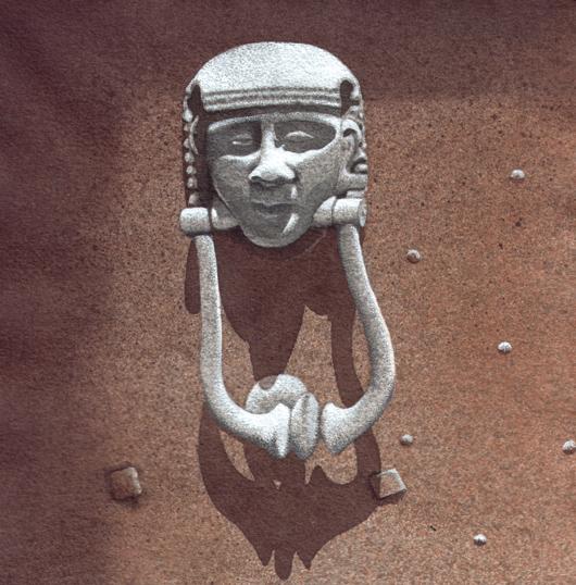Bussarello 4, 2010, tecnica mista su carta, cm 20x20