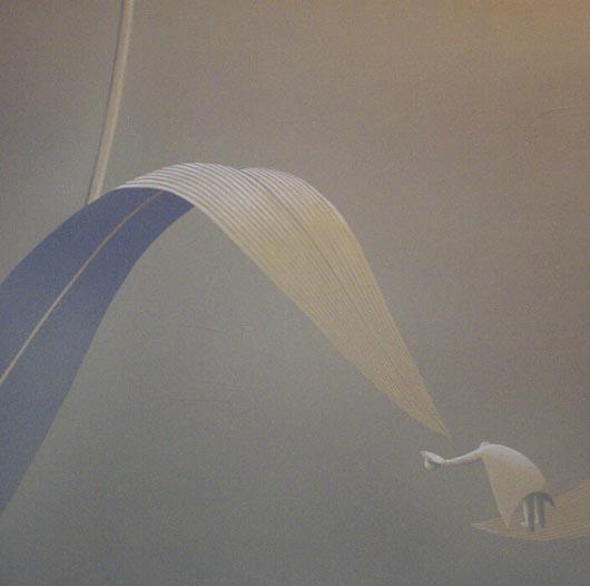 Incantato, 2004, tecnica mista su carta, cm 100x100