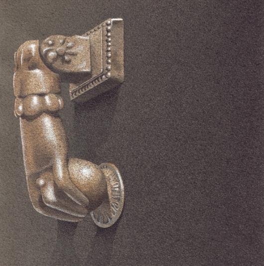 Bussarello 1, 2010, tecnica mista su carta, cm 20x20