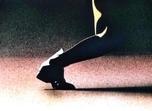 Passaggio, 2001, acquerello, cm 46x61