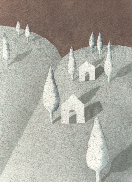 Storie di carta, 2006, tecnica mista su carta, cm 16x21