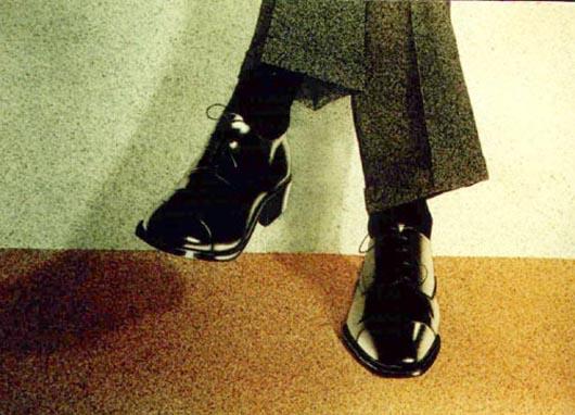 impeccabili, 2001, tecnica mista su carta, cm 36x51