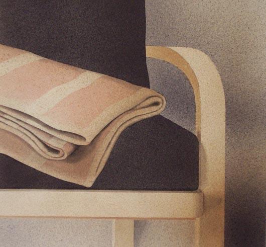 Coperta, 2002, tecnica mista su carta, cm 51x51