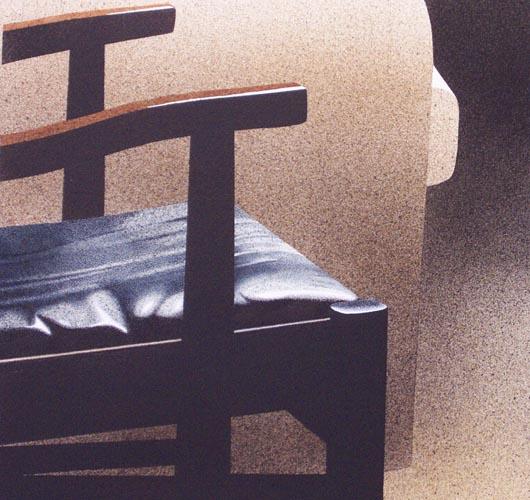 Di pelle, 2002, tecnica mista su carta, cm 51x51