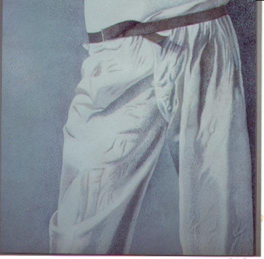 5, 1994, tecnica mista su carta, cm 100x100