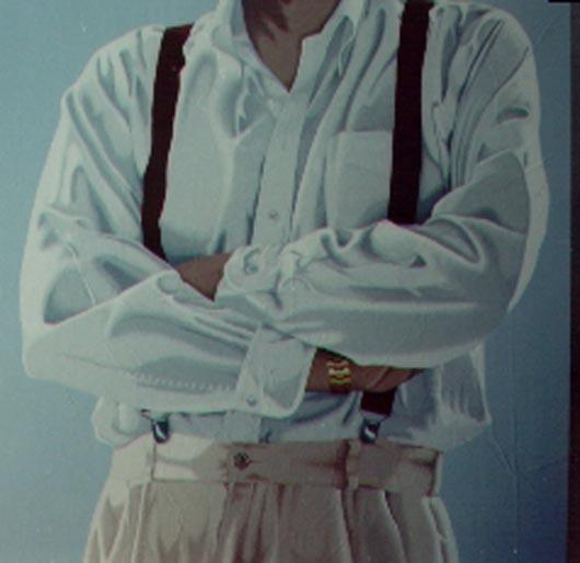 7, 1994, tecnica mista su carta, cm 100x100