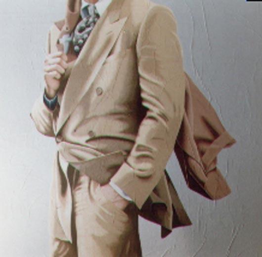 8, 1994, tecnica mista su carta, cm 100x100