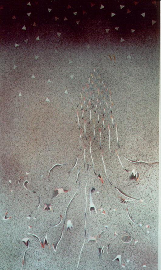 Quasi la pioggia, 1992, acquerello, cm 73x103
