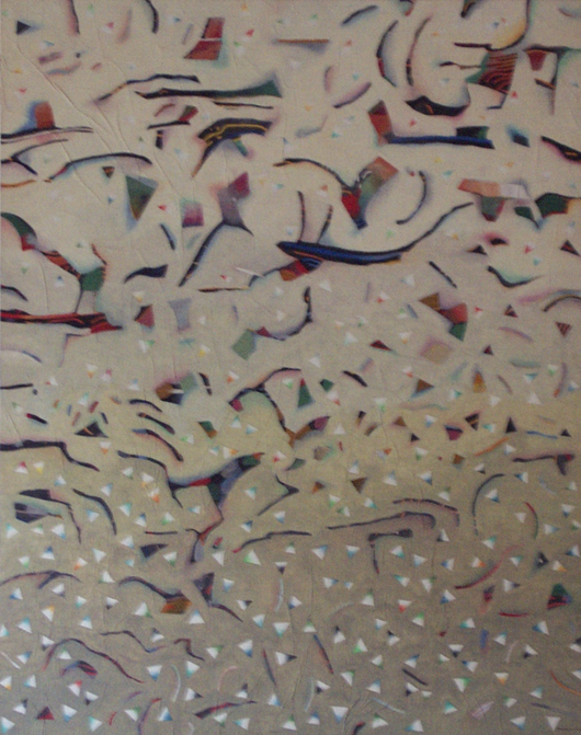 Seduzione, 1990, olio su tavola, cm 80x100