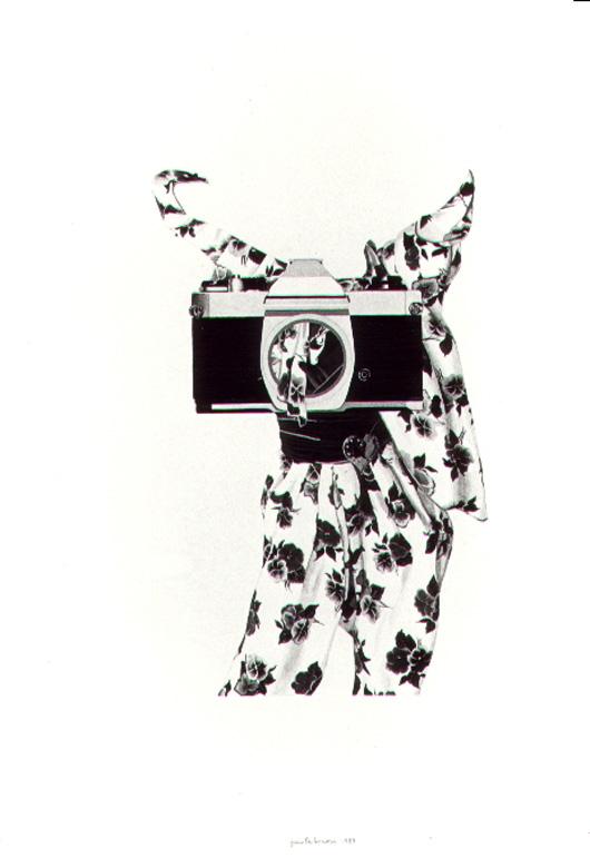 Foto 5, 1984, acquerello, cm 30x50