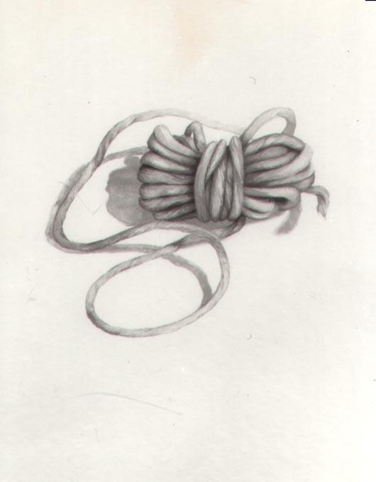 Lana grigia, 1984, acquerello, cm 20x30