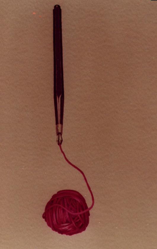 Mina morbida, 1982, acquerello, cm 20x30