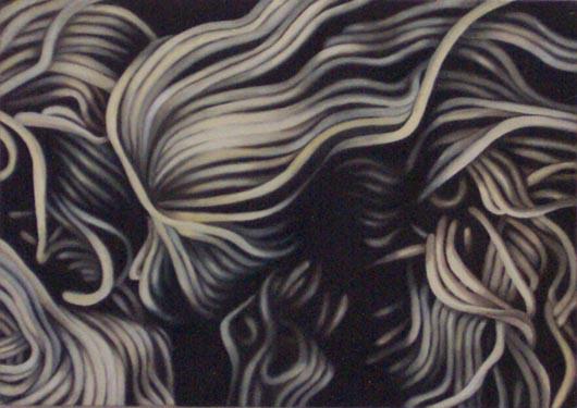 Lana, 1984, olio su tela, cm 25x35