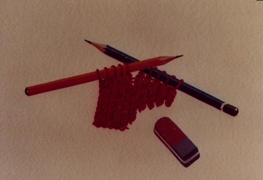 Si cancella, 1980, acquerello, cm 20x30
