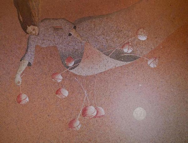 Canto XV, 2016, tecnica mista su carta, cm 18x24