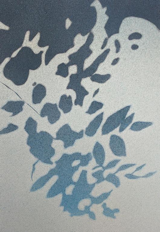 Sfumato, 2016, tecnica mista su carta, cm 35x50
