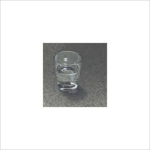 Bicchiere d'acqua, 2013, tecnica mista, cm 12x12