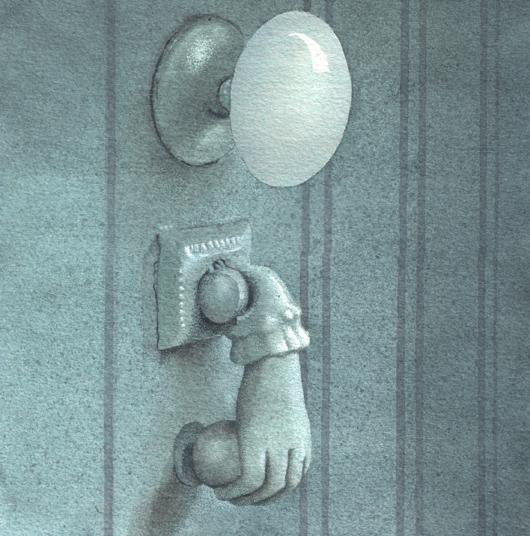 Bussarello 2, 2010, tecnica mista su carta, cm 20x20