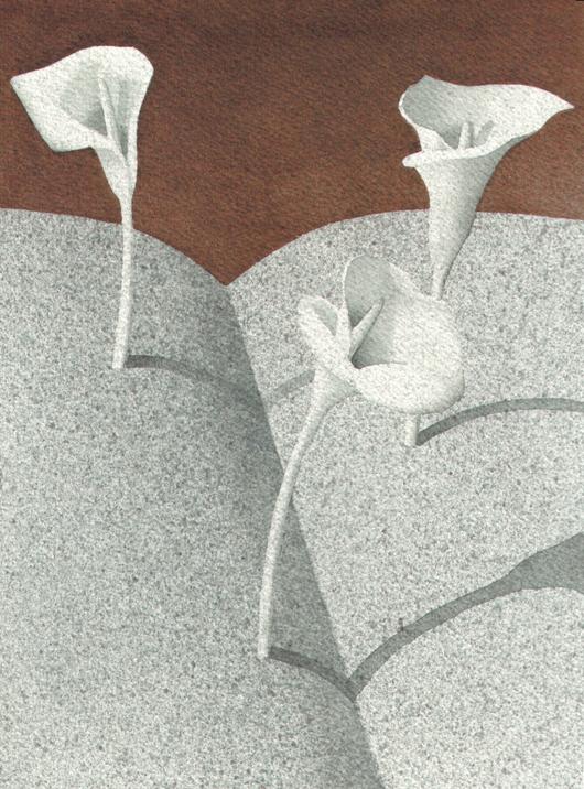 Storie di carta, 2006, tecnica mista su carta, cm 18x24
