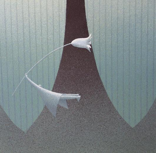 Mio, 2006, tecnica mista su carta, cm 30x30
