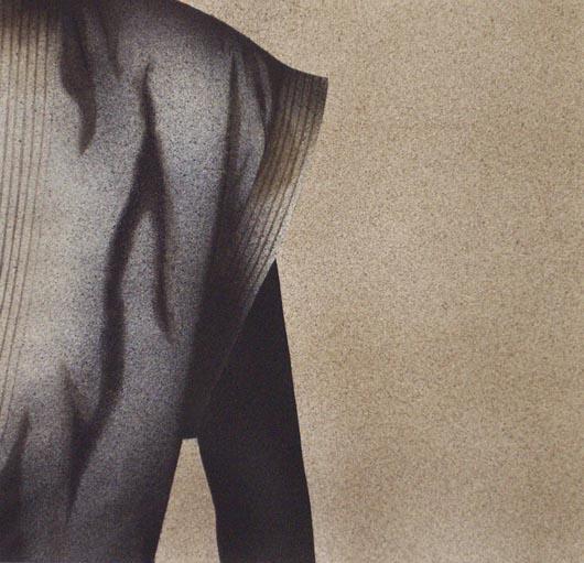 In ombra, 2002, tecnica mista su carta, cm 51x51