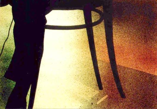 Microfono, 2002, tecnica mista su carta, cm 36x51