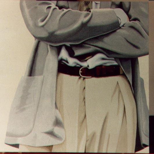 12, 1994, tecnica mista su carta, cm 100x100
