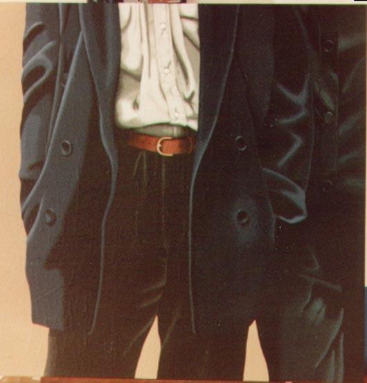 2, 1994, tecnica mista su carta, cm 100x100