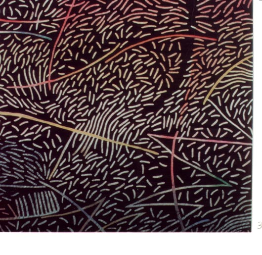 Il pettine, 1989, olio su tavola, cm 30x30