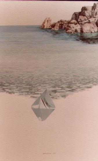 Lampedusa, 1986, acquerello, cm 20x35