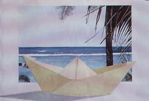 Barchetta, 1986, acquerello, cm 20x30