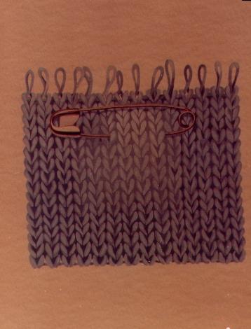 Spilla, 1980, acquerello, cm 20x30