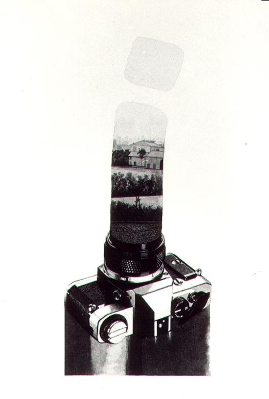 Foto 1, 1984, acquerello, cm 30x50